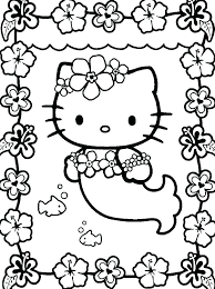 Hello Kitty Printable Coloring Page Free Printable Coloring Pages