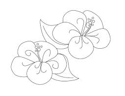 Small Picture Fancy Hibiscus Flower Coloring Page Color Luna