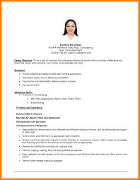 Make Sample Resume Objectives Templates For Psychology Jobs
