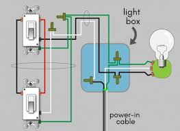 how to wire a 3 way switch wiring diagram dengarden 3 way switch wiring diagram the power in cable entering the light box