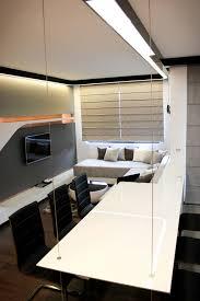 open ceiling lighting. Design Ideas. Fabulous Studio Apartment Design. Stupendous Futuristic Ideas In Open-plan Open Ceiling Lighting