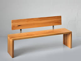Kitchen Benches With Backs Wooden Benches With Backs Mena Bench With Back By Vitamin Design