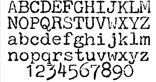 Cool Fonts To Write In Choosing A Font For Writing David Hewson Medium