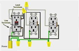 wiring diagram for gfci receptacle wiring image cooper gfci outlet wiring diagram wiring diagram schematics on wiring diagram for gfci receptacle