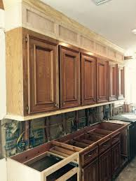 Overhead Kitchen Cabinets How To Make Ugly Cabinets Look Great Designed