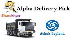 Sharekhan Alpha Delivery Pick Ashok Leyland Share Price