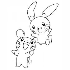 Monitos Tiernos Para Colorear Dibujos Para Colorear Pokemon Dibujos Pokemon Para Niños