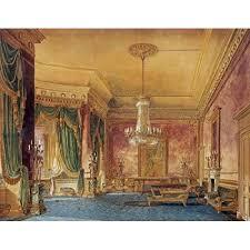 Regency Interior Design Painting Cool Design Inspiration