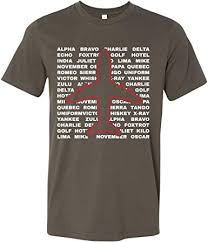 Military and has also been adopted by the faa (american federal aviation administration), ansi (american. Aviation Phonetic Alphabet Pilots Airplane Shirt Amazon Com