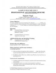 Entry Level Accounting Job Resume Impressive Sample Resume For Accounting Job Template Format Jobs 22