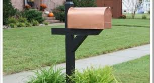 landscaping around mailbox post. Landscaping Around Mailbox Post Beautiful Diy Copper Garden Projects Pinterest