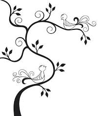 two love bird silhouette. Exellent Silhouette Silhouette Of A Tree With Two Love Birds Royalty Free Cliparts Vectors  And Stock Illustration Image 8870249 Bird R