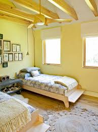 Light Yellow Bedroom Bright And Relaxing Home Decor Pinterest Contemporary Bedrooms