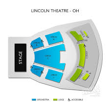 Lincoln Theatre Raleigh Seating Chart Vivid Seats Induced Info