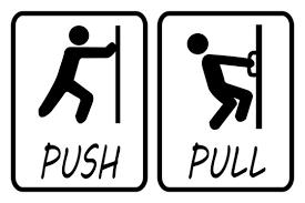 push pull door photos royalty free