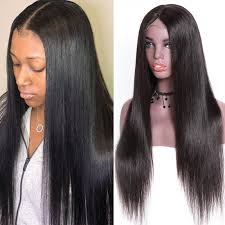 Unice Hair Bettyou Wig Series 100 Virgin Hair Soft Long Straight Wig Transparent Lace And Medium Brown Lace Cap With Baby Hair Density 150 And 180