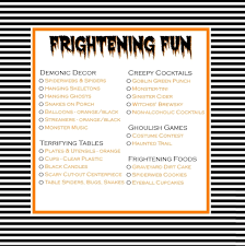 Party Planning Lists Halloween Party Checklist Printable A Helicopter Mom