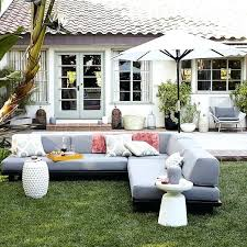outdoor furniture west elm. Amazing West Elm Patio Furniture For Outdoor Modular Seating Home Sale . Good E