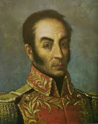"""Simon Bolivar. In The General in his Labyrinth, Gabriel Garcia Marquez has the exhausted Liberator sighing, """"I've become lost in a dream, searching for ... - simon_bolivar_by_tovar_y_tovar_zitat1"""