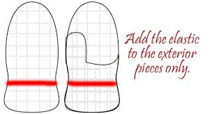 Mitten Pattern Best Free Mitten Pattern For Fleece And Step By Step Tutorial Fleece Fun