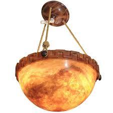 alabaster light fixture chandelier
