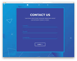 Html Form Sample Design 30 Best Free Html Contact Forms With Fresh New Designs 2020