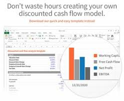 Cash Flow Model Excel Discounted Cash Flow Model Template