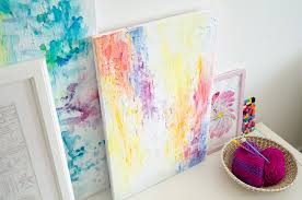 DIY Abstract Watercolor Painting | Video Tutorial