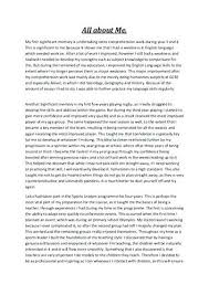 all about me essay example sweet partner info all about me essay example about me essay examples essay format
