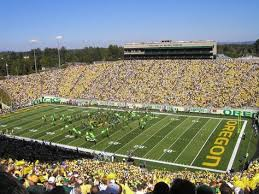University Of Oregon Football Stadium Seating Chart Autzen Stadium In Eugene Oregon Home Of The Ducks Things