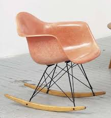 eames chair vintage for sale. vintage eames rar rocking chair in a perfectly faded hue of pink for sale c