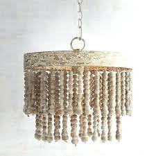 how to make a beaded chandelier beaded chandelier inspirational world market antique whitewash wood bead chandelier