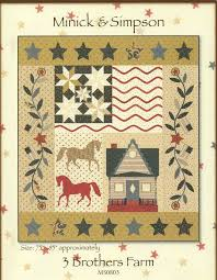 495 best Quilts etc - 'On the Farm' images on Pinterest | Block of ... & 3 Brothers Farm Quilt Pattern by Minick and Simpson Adamdwight.com