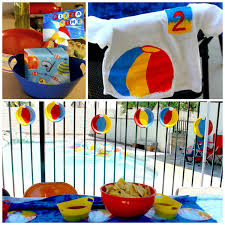 Beach Ball Party Decorations Kara's Party Ideas Beach Ball Birthday Party Supplies Planning 2