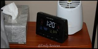 acurite atomic clock with usb charger dual alarm giveaway us 3 9