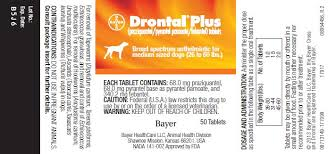 Pyrantel Pamoate Dosage Chart Drontal Plus Praziquantel Pyrantel Pamoate Febantel
