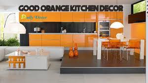 Orange And Yellow Kitchen Daily Decor Orange Kitchen Decorating Ideas Youtube