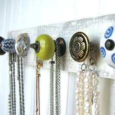 necklace wall hangers time to untangle those necklaces and hang them on this fabulous jewelry organizer necklace wall hangers