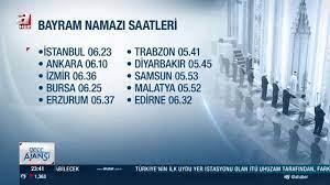SON DAKİKA! İstanbul'da bayram namazı saat kaçta kılınacak? İşte il il 2021  yılı Kurban Bayramı namaz saatleri - Video - AHaber Video İzle