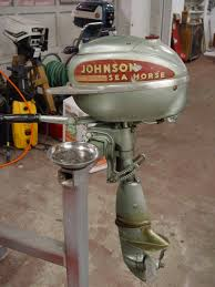 beyond the sea horse outboard motor restoration step by step day this is a late 40 s johnson