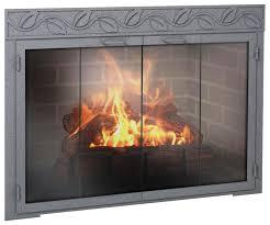 18 photos gallery of quality fireplace door
