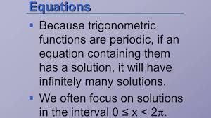 trigonometric equations algebra 2 11 7
