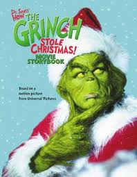 how the grinch stole christmas book cover. Brilliant Christmas Dr Seussu0027 How The Grinch Stole Christmas Movie Storybook Seuss Dr Inside The Christmas Book Cover