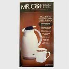 Top quality filters are designed for easy use with all mr. Mr Coffee Thermal Carafe 32 Oz Red White Modern Design Double Wall Glass Liner For Sale Online Ebay