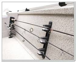 fishing pole storage fishing pole storage on boat fishing pole holder diy