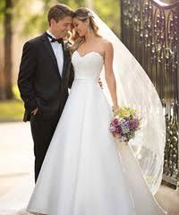 Stella York Designer Wedding Dress Bride To Be Reading
