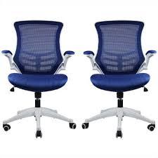 royal comfort office chair royal. Manhattan Comfort Lenox Mesh Adjustable Royal Blue Office Chair (Set Of 2) E