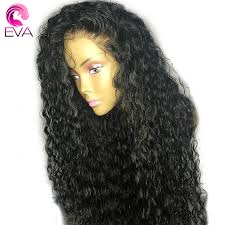 Eva 13x6 Lace Front Human Hair Wigs Pre Plucked With Baby Full End Brazilian Curly