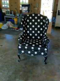 polka dot chair cover charming chair with black and dotted chair slipcover for home furniture ideas polka dot chair