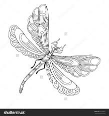 Small Picture Dragonfly Coloring Page nywestierescuecom